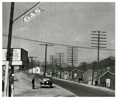 walker evans,photographies,États-unis,new york,edward hopper,villes,paysages