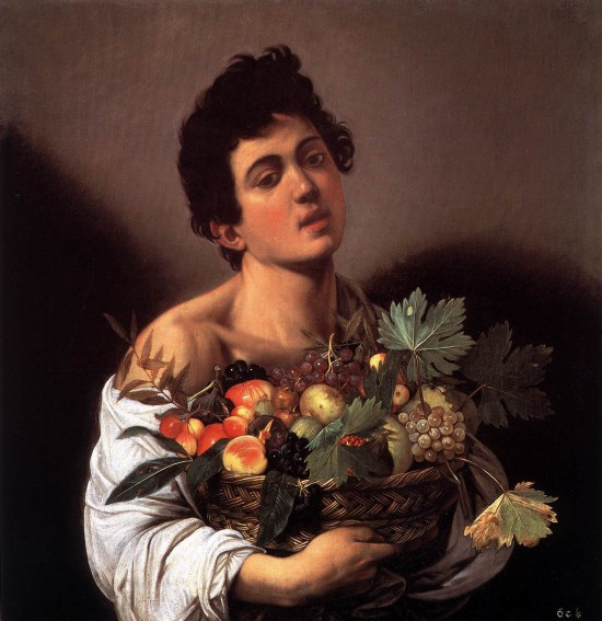 caravage portrait à la corbeille de fruit 1593.jpg